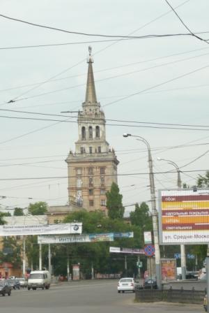 Здание на Кольцовской.
