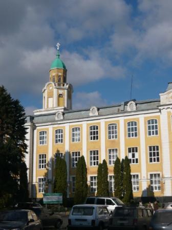 Вид на башню СХИ
