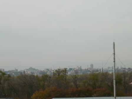 Вид из окна Машснаба на правый берег