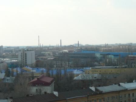 Пасха 2011. Четвертое фото с колокольни Благовещенского собора.