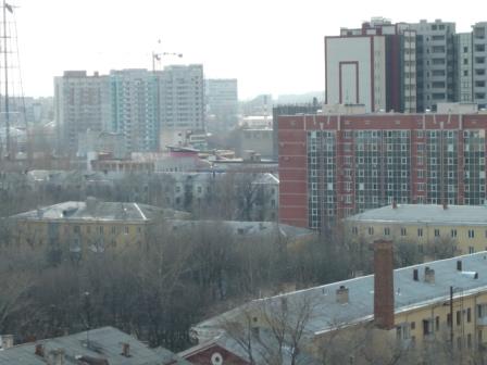 Пасха 2011. Пятое фото с колокольни Благовещенского собора.