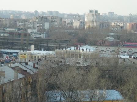 Пасха 2011. Шестое фото с колокольни Благовещенского собора.