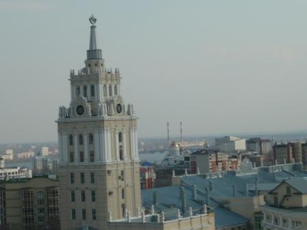 Пасха 2011. Седьмое фото с колокольни Благовещенского собора.