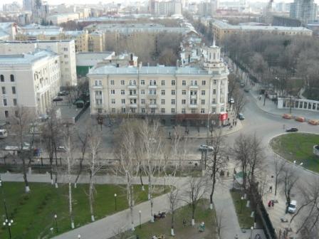 Пасха 2011. Девятое фото с колокольни Благовещенского собора.