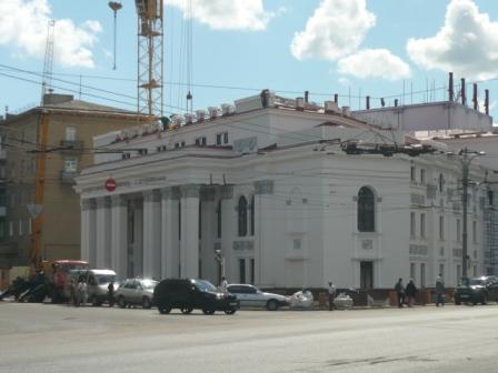Реконструкция драмтеатра