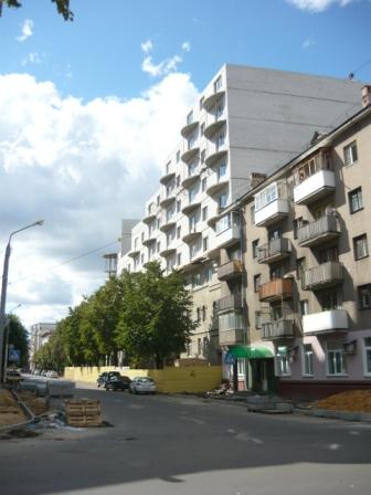 Новостройка по улице Дзержинского