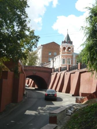 Проезд под Каменным мостом