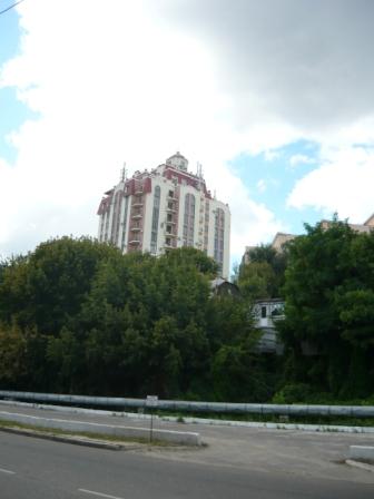 Вид с Адмиралтейской площади