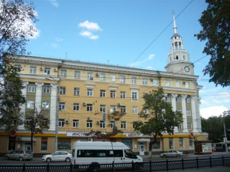 Здание бывшей гостиницы Воронеж